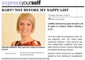 Nappy list numero uno